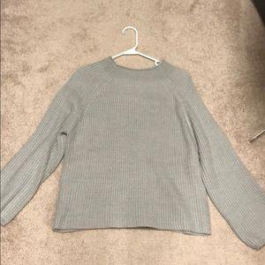 Seafoam blue sweater
